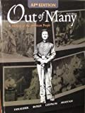 img - for Out of Many: A History of the American People, AP Edition book / textbook / text book
