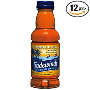 Tradewinds Lemonade Tea, 20-Ounce (Pack of 12) $7.63