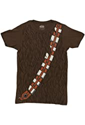 Star Wars I am Chewbacca Costume Adult Brown T-Shirt