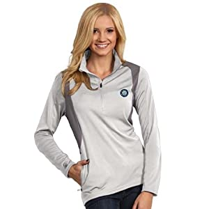 Seattle Mariners Ladies Delta Pullover (White) by Antigua