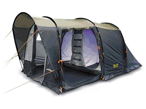 Bertoni Spazio 5 Tenda da Campeggio, Blu/Sabbia/Beige