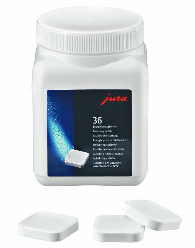 Jura Descaling tablets - 36 pieces 20% More!