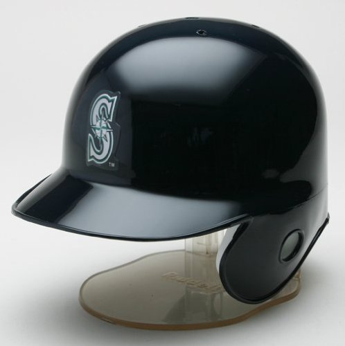Seattle Mariners Riddell Mini Baseball Batting Helmet - with display stand at Amazon.com
