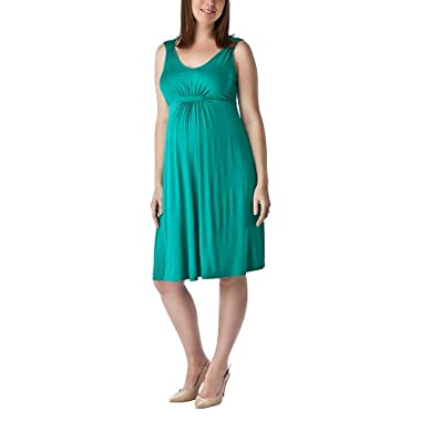 Product Image Liz Lange® for Target® Maternity Sleeveless V-Neck Knit Dress -Underwater Jade