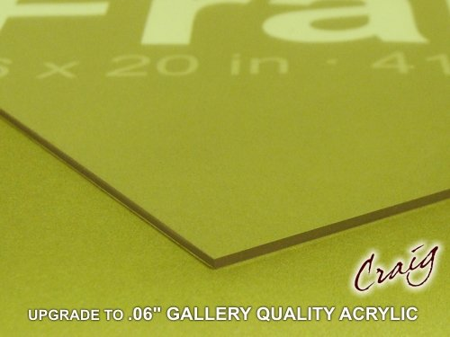 Good Price 24x36 Acrylic for Picture Frame Poster Frame .06u0026quot; Gallery ...