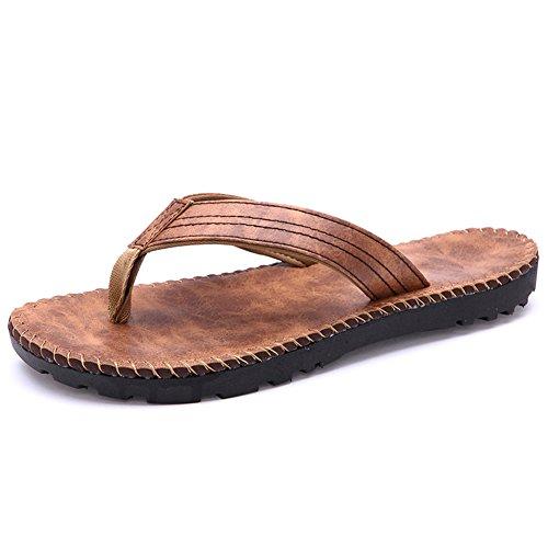 flops/pantoufles pour homme/Chaussures de loisirs printemps/été homme drag marée/sandales/pantoufles de plage/version coréenne pantoufles des marées
