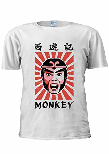 Monkey Magic TV Series T-shirt - 7 Colours - S to XXXXXL
