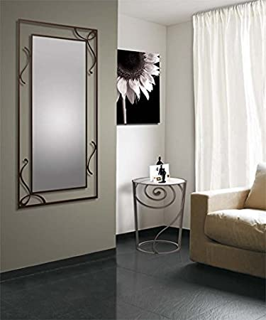 Wrought iron mirror DONA Model