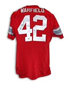 Paul Warfield Signed Jersey - Ohio State Buckeyes Throwback - Autographed College... by Sports+Memorabilia