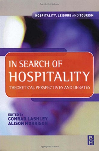 In Search of Hospitality (Hospitality, Leisure and Tourism)