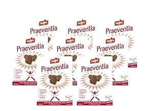 Praeventia Dark Chocolate Chip 70% Cocoa Cookies - 1 Case of 8 Boxes