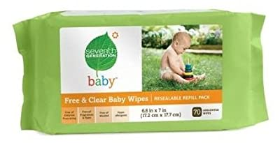 Seventh Generation Free & Clear Baby Wipes