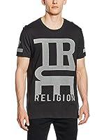 True Religion Camiseta Manga Corta (Negro)