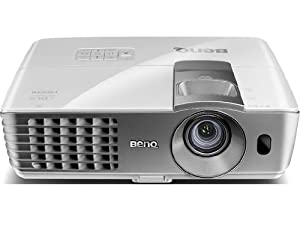 BenQ W1070 1080P 3D Home Theater Projector (White)