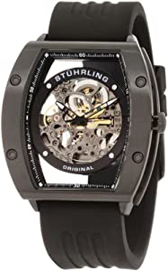 Stuhrling Original Men's 206R.33561 Sportsman Zeppelin NT Automatic Skeleton Black Watch