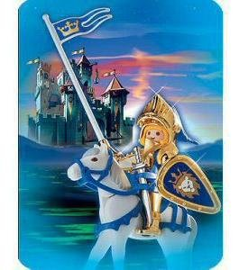 Playmobil 30th Anniversary Edition Blue Knight on White Horse - Buy Playmobil 30th Anniversary Edition Blue Knight on White Horse - Purchase Playmobil 30th Anniversary Edition Blue Knight on White Horse (Playmobil, Toys & Games,Categories,Pretend Play & Dress-up)