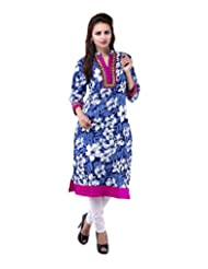 Rash Collection Women's Cotton Collar Neck Kurti - B00X3TKN6Q