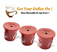 Realiable 3 X K-cup Brewer Pack the Highest Quality and Best Tasting Coffees Available Today Refillable K Cup As Seen on Tv Refill Your Coffee with Ease and Save Money with K-cup Reusable Coffee Cup K Cup Handy This Reusable