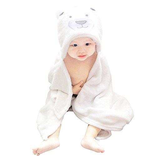 qumao-albornoz-de-bano-manta-toalla-capa-de-bano-con-capucha-unisexo-para-bebe-blanco