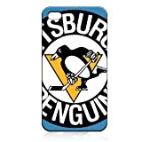 New Items Pittsburgh Penguins iPhone 5 Classic Hardshell Case Color Black (PC+Silicone)