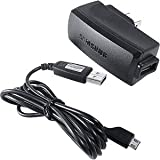 Samsung 0.7A home/Wall Power (AC) Adapter with Detachable Micro USB Data Cable