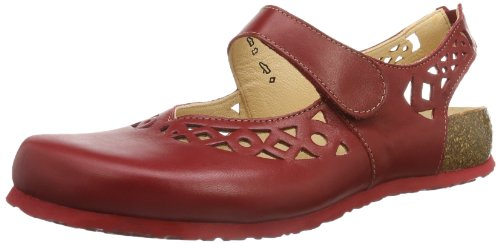 Think Julia, Sandali donna, Rosso (Rot (ROSSO/KOMBI-72)), 43 EU (9 Damen UK)
