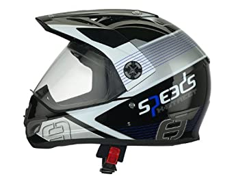 Casque Speeds Cross X-Street Graphic bleu taille L