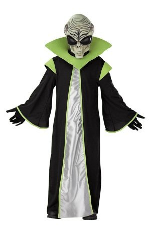 Costumes For All Occasions DG1261 Alien Child 7-8