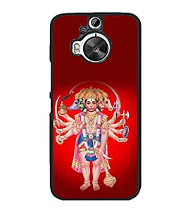 printtech Hindu God All In One Back Case Cover for HTC One M9+