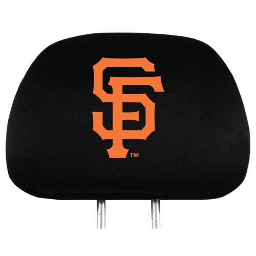 San Francisco Giants Head Rest Cover (Sf Giants Headrest Covers compare prices)