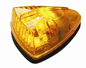 LED Amber Truck Bus RV Roof Cab Marker Clearance Light