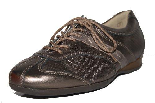 Theresia Muck - Hillu 62842 263 457 Damenschuhe Halbschuhe (5, bronze/weite H)