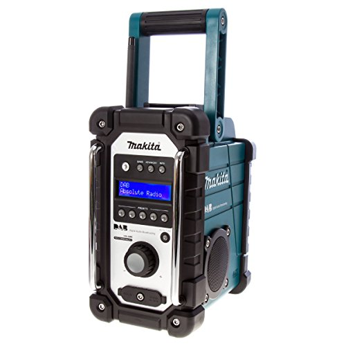Makita Job Site Radio Stereo with DAB and FM – Teal