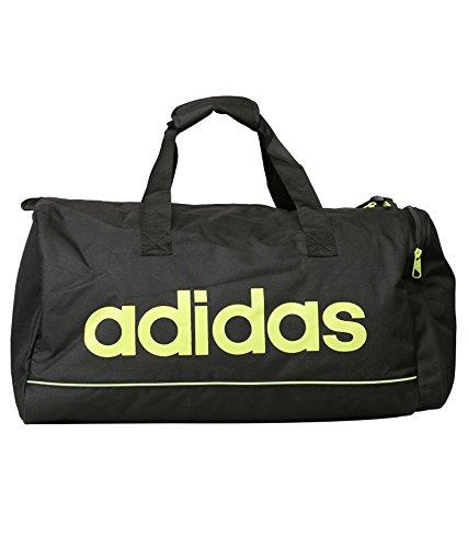 Adidas Black Polyester Duffle Bag