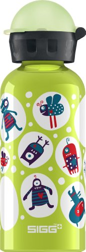 Sigg 8423.30 Glow in the dark Monster solid lime 0,4l