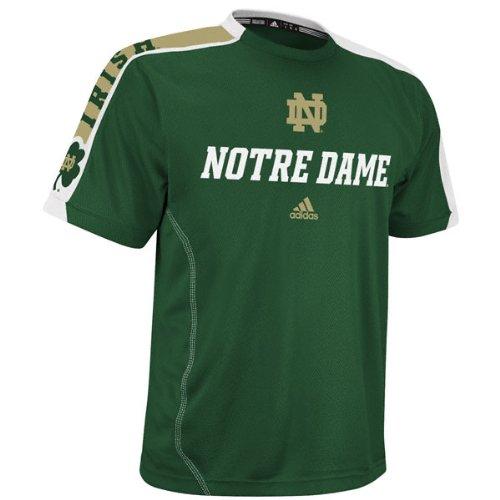 Notre Dame Fighting Irish Green Adidas Football Sideline
