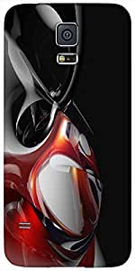 Timpax protective Armor Hard Bumper Back Case Cover. Multicolor printed on 3 Dimensional case with latest & finest graphic design art. Compatible with Samsung Galaxy S-5 / S5 Design No : TDZ-26471