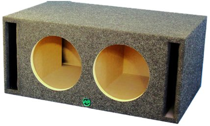 Audio Enhancers Kv10Dc Subwoofer Enclosure Box, Carpeted Finish