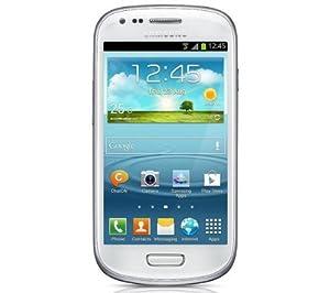 SAMSUNG I8190 - Galaxy S III mini - blanc + Flip cover Origine pour Samsung Galaxy S3 mini I8190 - blanc - Etui à rabat