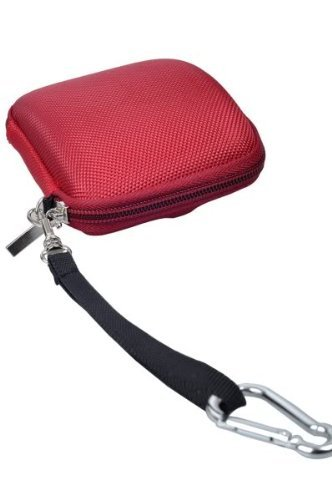 RED Zipper Pouch GPS Case For TomTom GO 730 XL 330 S