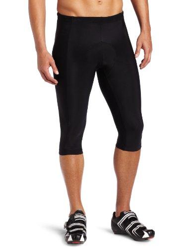Buy Low Price Canari Cyclewear Men's Gel Knicker Padded Cycling Short (1036-BLACK)
