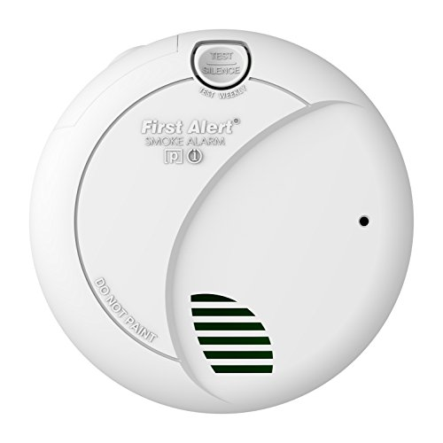 First Alert BRK 7010B Hardwire Smoke Alarm with Photoelectric Sensor and Battery Backup (Kitchen Smoke Alarm compare prices)