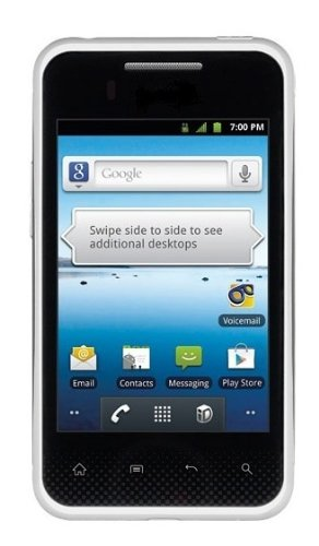 Samsung Chat GT-C3500 Cellular Phone with Stereo FM Radio with RDS, FM Recording, Bluetooth and 2 MP Camera - US Warranty - White