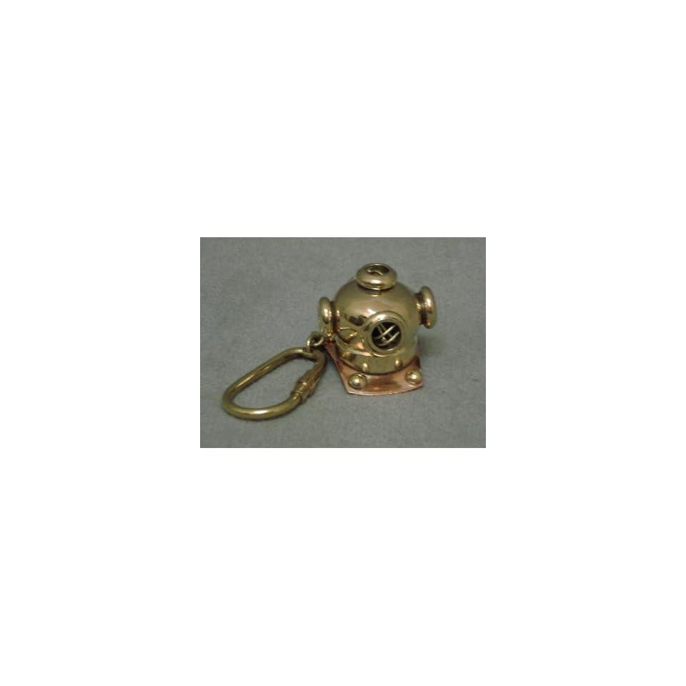 Diving Helmet Key Ring