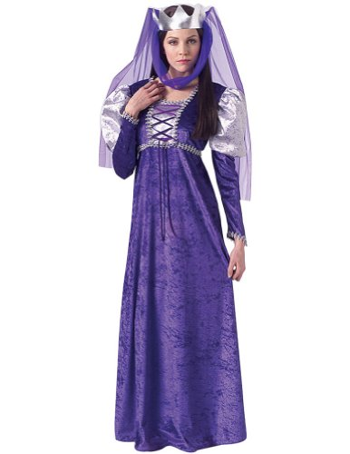 Adult-Costume Renaissance Queen Adult Costume 8-12 Halloween Costume