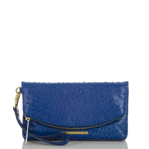 Duxbury Clutch<br>Electric Blue Normandy