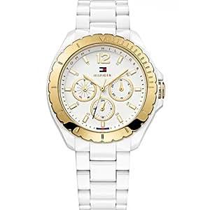 Tommy Hilfiger Watches Damen-Armbanduhr Dylan Analog Quarz Plastik 1781428