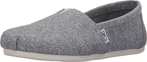 Toms Women's Classic Grey Marl Casual Shoe 9 Women US (Classic Toms compare prices)