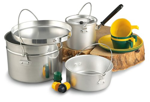 Texsport Aluminum 4-Person Cook Set