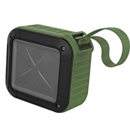 Generic Touch Screen Super Bass Stereo Mic Speaker Color Green